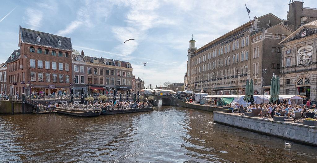 Leiden city centre