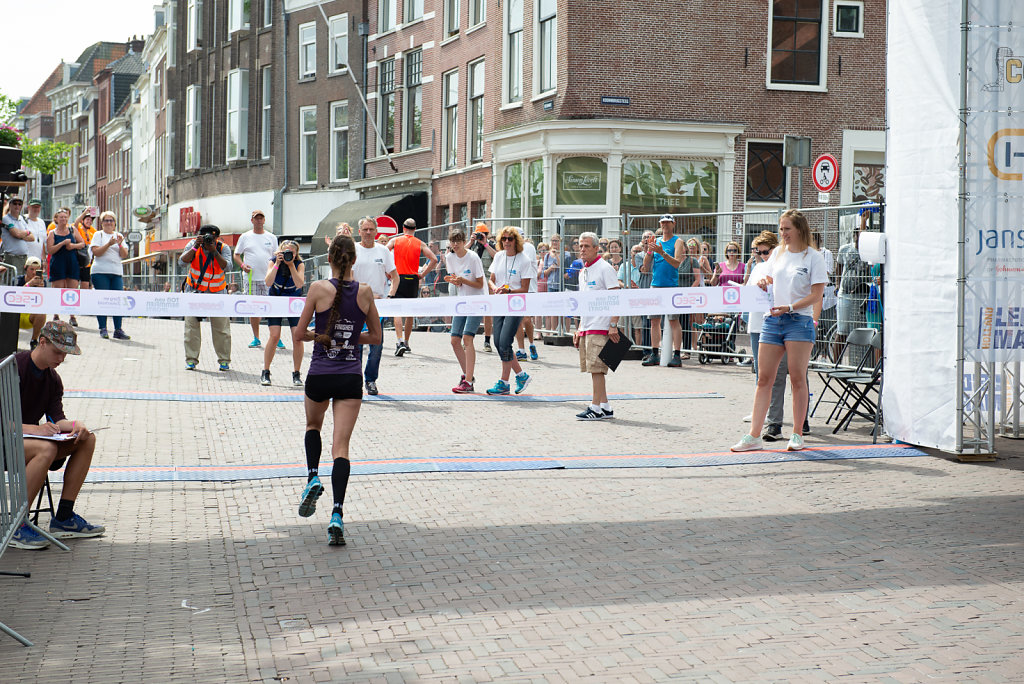 Finish - Leiden Marathon