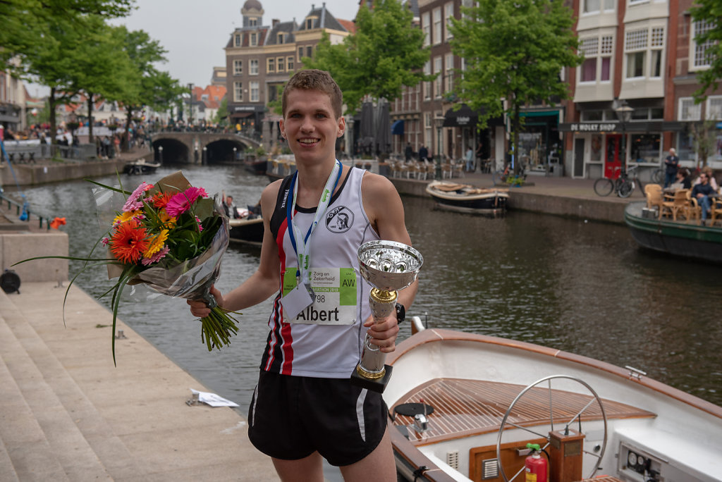 Winnaar Leiden Marathon 21KM 2019