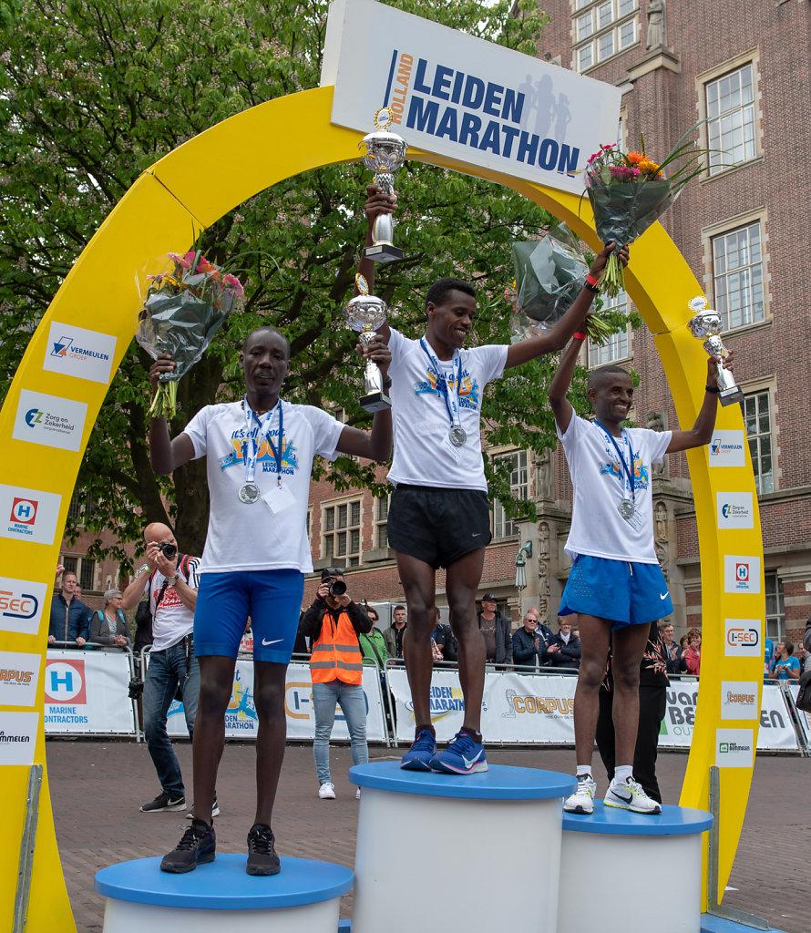Podium Leiden Marathon 42KM