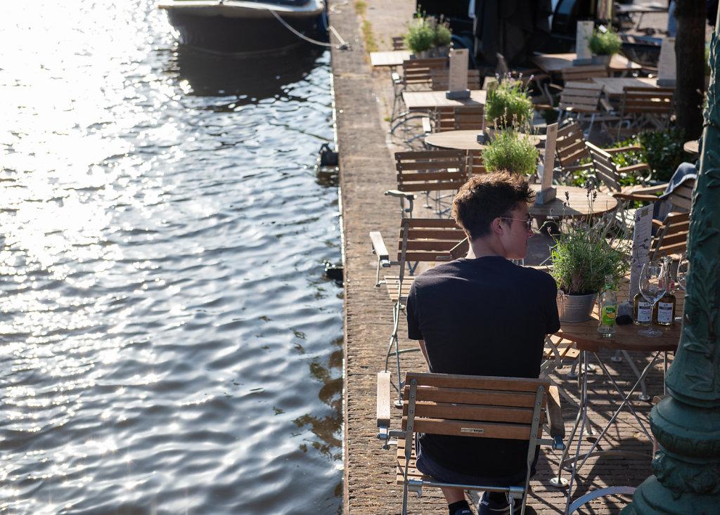 Leiden aan het water
